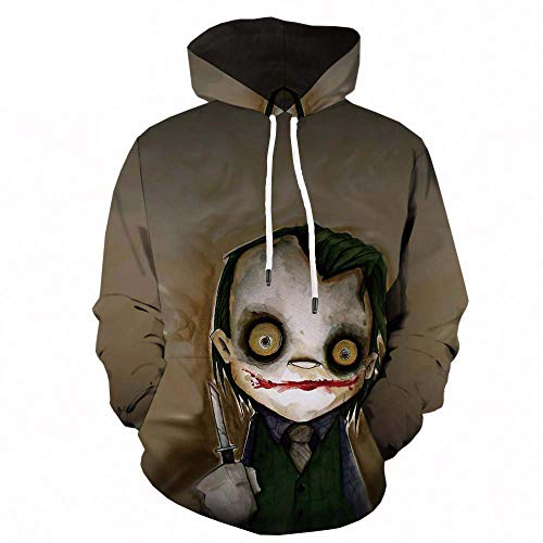 Sudadera con capucha para hombre Skull Pumpkin Ghost 3D Print Sport Hoodie Sweatshirt