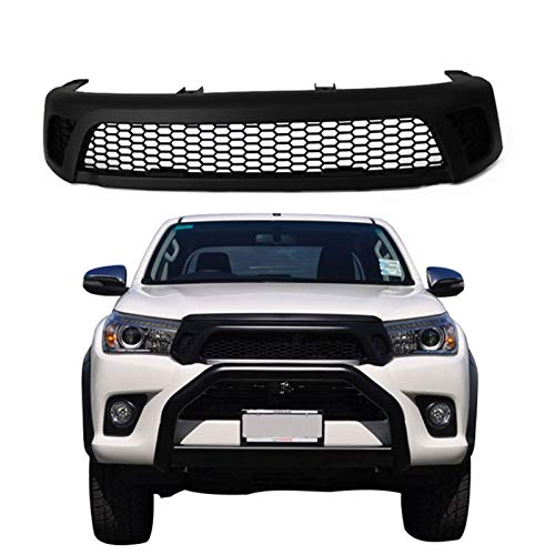 41Hg9YYhrFL - Frontgrill Front Racing Grill Zubehör/Fit for/T o y o t a Hilux Reco 2016 2017 2018
