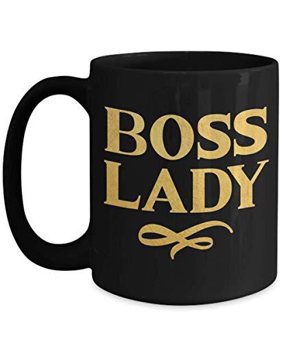Taza de la señora del jefe, taza de la señora del jefe de oro regalo del jefe de la muchacha para la señora del jefe taza de café regalo del compañero de trabajo regalo del mejor amigo reconoc