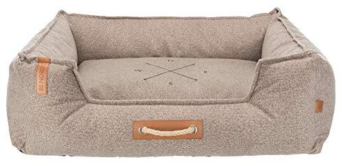 Trixie Föhr Bett Soft BE Nordic, 80 x 60 cm, sand