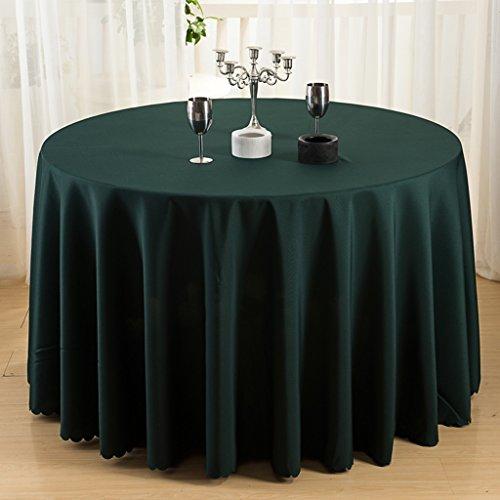 Nappes Nappe Ronde - Solide Couleur/Table à Manger/Cuisine/Nappe Hôtel/Fête Réunion Naturelle Peau Respirante Naturelle 260 Cm (Couleur : D, taille : Round -220cm)