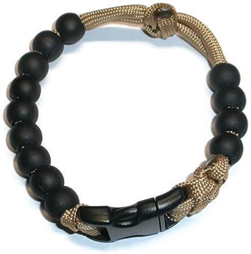 RedVex Ranger Pace Counter Bead Bracelet Choose Your Color and Size - Customization Available (Gold, 8 inch)