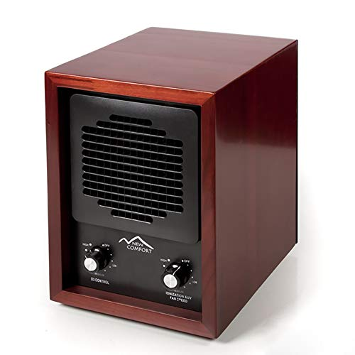 New Comfort Scratch and Dent Cherry Finish Commercial Quality Ozone Generator and Ioniser for Odor Removal and Air Purification
