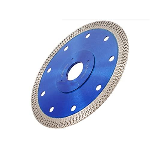 ADUCI 1pc Diamante Saw Blade Seco Hojas Húmedo Porcelana Diamante Cerámica Corte Discaro Ángulo de la Rueda (Color : 105 mm, tamaño : 1.2mm)