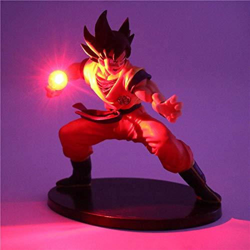 Yvonnezhang Dragon Ball Z Son Goku Figuras de acción Lámpara Led Modelo de Anime DIY Lámpara de Mesa Muñecas Bebé Luz Nocturna para niños de Juguete Lámparas de decoración @ 3