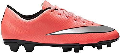Nike Herren Mercurial Vortex II FG Fußballschuhe, Gelb Silber Grün Brght MNG Mtllc Slvr Hypr TRQ, 43 EU