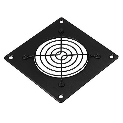 RDEXP Rejilla de ventilación de malla de aluminio para ordenador de 80 x 80 mm