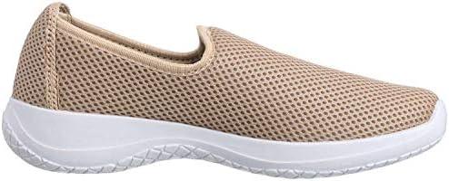 حذاء كاجوال سهل الارتداء قماش شبكي بنعل مختلف اللون للنساء من ساليرنو