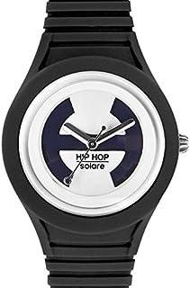 Hip Hop Watches - Orologio da Donna Black Tie HWU0529 - Collezione Solare - Cinturino in Silicone - Impermeabile 5 ATM - C...