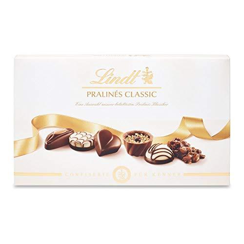Lindt Pralinés Classic 200g, eine harmonisch aufeinander abgestimmte Auswahl der 11 beliebtesten klassischen Lindt-Pralinés, 1er Pack