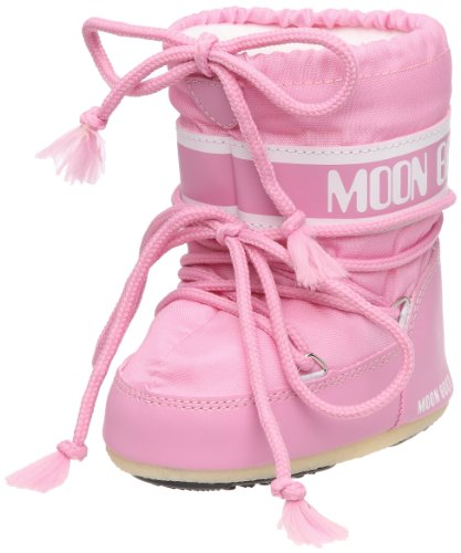 Moon Boot Mini Nylon, Chaussures bébé mixte enfant - Rose (Rosa), 22 EU