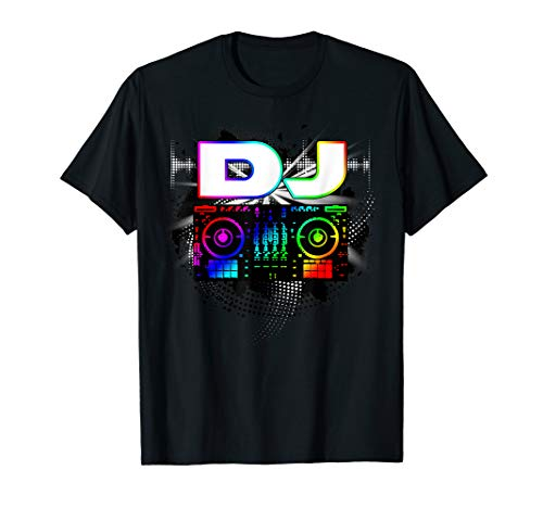 Dj Music Lover Music Player Cooles DJ Geschenk T Shirt