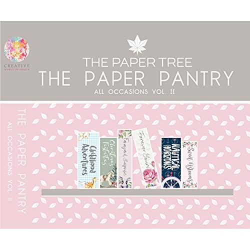 Paper Boutique The Paper Tree – Despensa de papel – todas las ocasiones – Colección USB Vol 2, varios