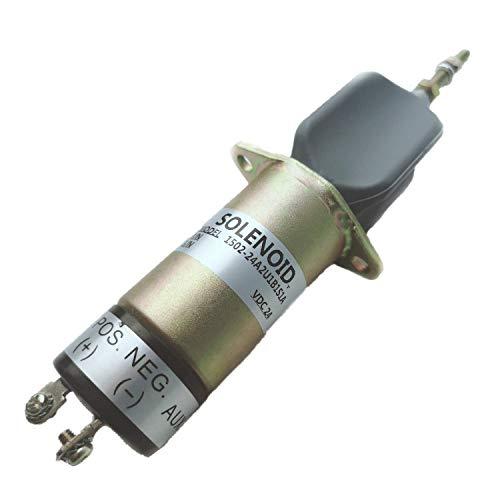 SINOCMP 1502-24A2U1B1S1A Électrovanne d'arrêt 24 V pour pièces de pelleteuse diesel