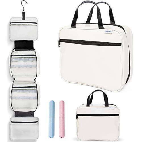 BlueSkye Hanging Toiletry Bag, Wash Bag and Travel Cosmetic Makeup...