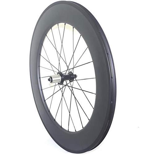 SHP SHIHONGPING Fahrrad-Rad Rennrad Carbon dreht Klammer 38mm 50mm 60mm 80mm 90mm Carbon-Rennrad Hinterräder Scheibenbremse oder Felgen Brems (Color : 38mm R13 POWERWAYY)