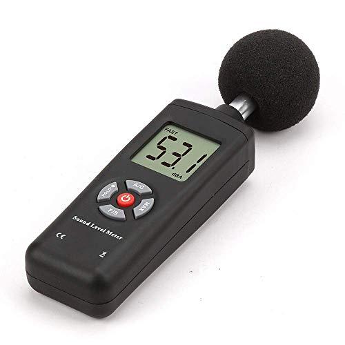 HYY-YY Präzises Instrument TL-201 30-130dB LCD Digital Noise Detector Dezibelmessgerät mit Schallpegelmesser