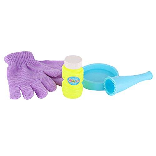 clasificación y comparación YeahiBaby 4 juguetes mágicos para niños, fiestas en la playa con guantes de burbujas de jabón para casa