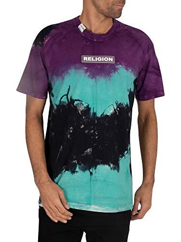 Religion de los Hombres Camiseta Mist, Multicolor, L