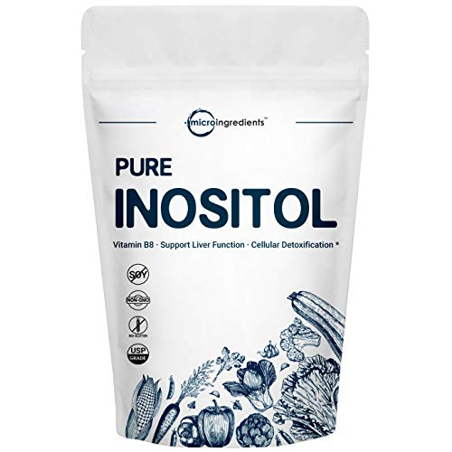 Micro Ingredients Pure Inositol Powder, 1KG (2.2 Pounds), Strongly Supports Liver Health & Antioxidant, No GMOS and Vegan Friendly