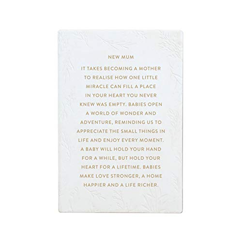 Splosh Life Quote New Mum – Quotes – Sentimental Gifts – Keepsake – Mother's Day