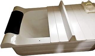 バスタブボードバスタブカバー防塵折りたたみダストボードバスタブ絶縁カバーPVCバスルームトレイ(サイズ:127700.6cm)