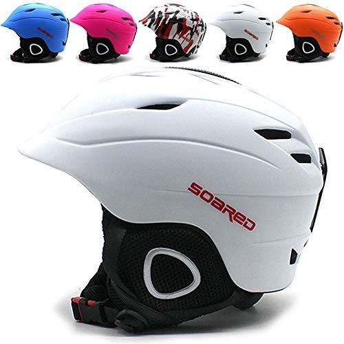 Wwtoukui Casco De Esquí para Adultos Equipo De Protección contra El Esquí...