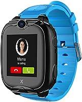 XPLORA XGO 2 - Telefon Uhr für Kinder (SIM-frei) - 4G, Anrufe, Nachrichten, Schulmodus, SOS-Funktion, GPS, Kamera,...