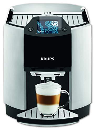 Bruni Schutzfolie kompatibel mit Krups EA 9010 Folie, glasklare Displayschutzfolie (2X)