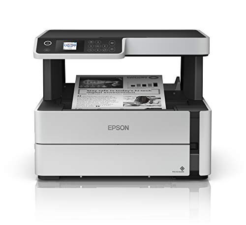Buy Discount Epson EcoTank ET-M2170 Wireless Monochrome All-in-One Supertank Printer with Ethernet P...