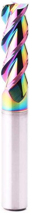 GONGJU31 Luxury goods 1-8mm 3 Flute Milling Coating Sale item Cutter Tungsten Colourful