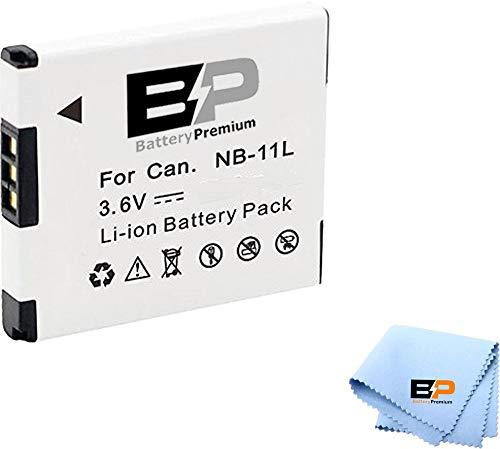 BP Replacement Battery NB-11L, NB-11LH Batteries for Canon PowerShot Elph 150, 160, 170 is, Elph 180, Elph 190 is, Elph 320 HS, Elph 340 HS, Elph 350 HS, Elph 360 HS,SX410 is, SX420 is Digital Camera