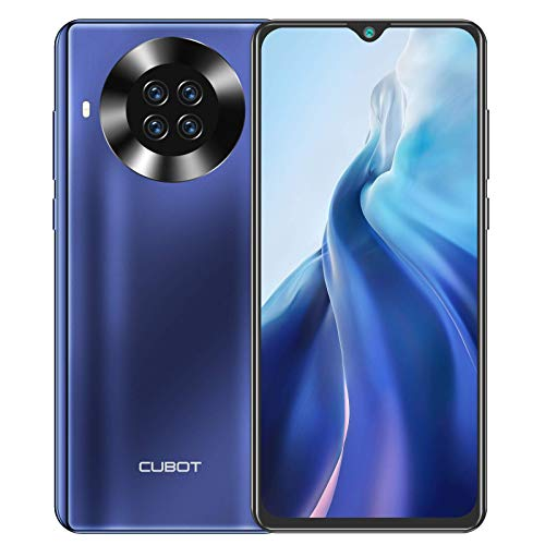 CUBOT Note 20 Pro Smartphone 4G (6.5 Zoll, 8GB RAM, 128GB Speicher, 4200mAh, Quad Camera, NFC), Android Handy [deutsche Version] (Blau)