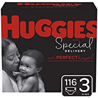 116-Count Huggies Special Delivery Hypoallergenic Baby Diapers