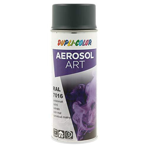 DUPLI-COLOR 126192 AEROSOL ART RAL 7016 anthrazitgrau seidenmatt 400 ml