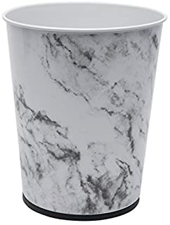 Bath Bliss Bliss Waste Trash Can-Recycle Bin for Office Marble