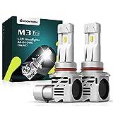 KOOMTOOM LED 9012 / Hir2 / 9005 / HB3 Bombillas de faros LED ZES Chip Chip Todo en uno OEM Halógeno 1: 1 Diseño Plug-N-Play 55W 12000LM 24V 1YR Garantía