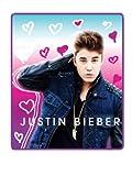Justin Bieber - Heart Frenzy Fleece Blanket