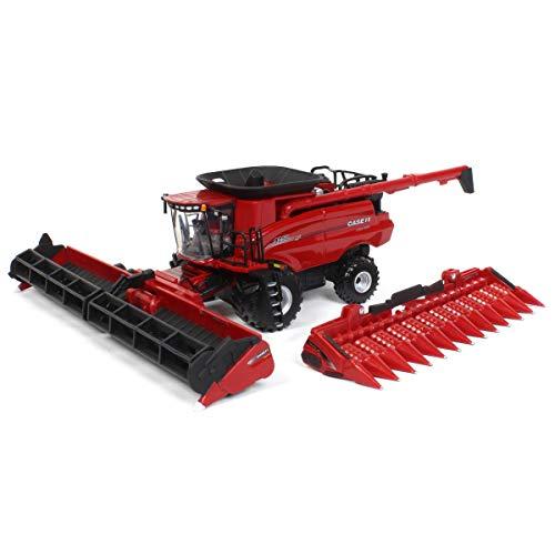 Case IH 1/64 Prestige 9250 Combine with Corn and Grain Header 44244 -  ERTL