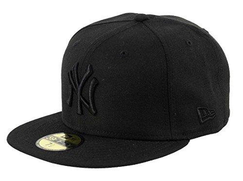 New Era New York Yankees 59fifty Cap Black on Black - 7 1/4-58cm