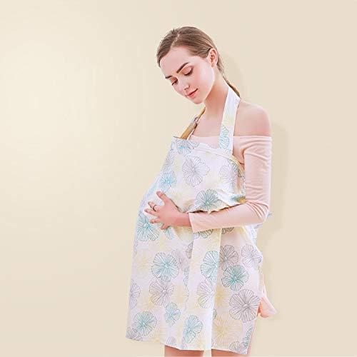 (エーアンドアイ) A&I 授乳ケープ 授乳服 ベビー ワイヤー入り 授乳カバー ベビー用品 赤ちゃん コットン 綿 Y150(1つ タイプB)