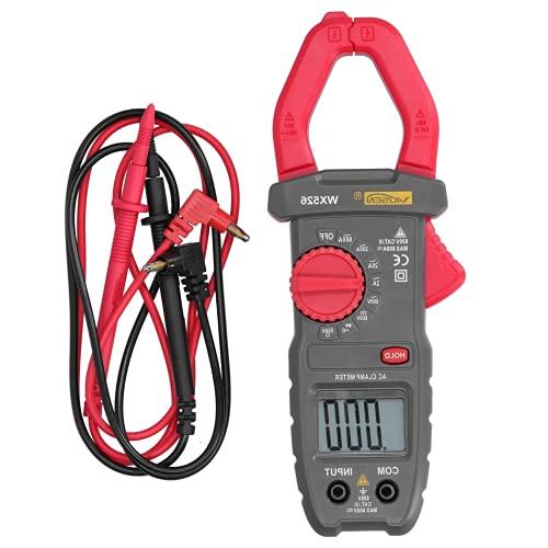 Tester digitale a pinza, multimetro digitale digitale a gamma manuale LCD per l'industria per la manutenzione dell'elettricista per la casa(WX526)