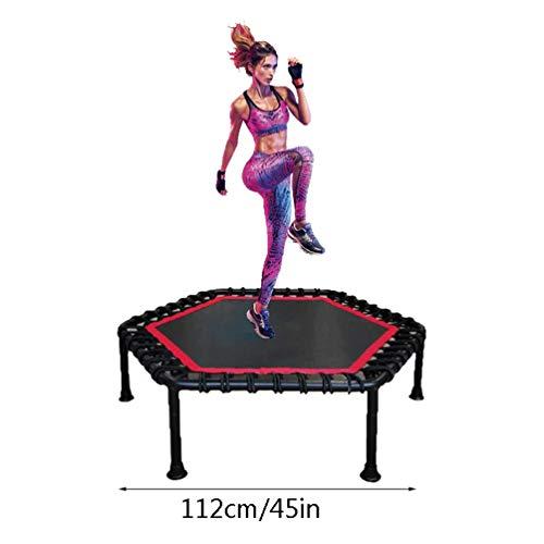 RY-tramp Fitness trampoline, mini elastisch elastiek, binnenruimteparel, gewicht buik, veiligheid jumping voor volwassenen en kinderen