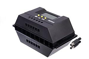 30a lcd 12v 24v solar controller regulator charge battery for Yamaha ef3000ise inverter generator