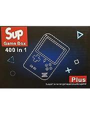 جهاز ألعاب إلكترونية يحتوي على 400 لعبة مختلفة وبطارية قابلة للشحن