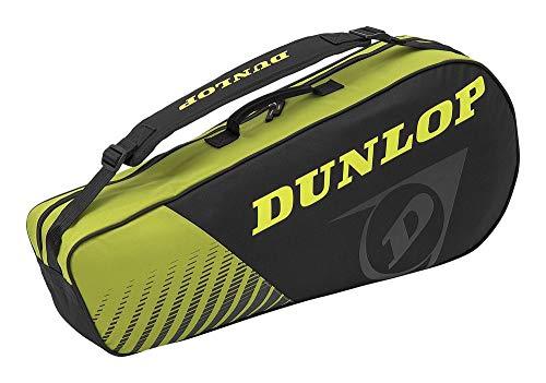 Dunlop 10295445 Raquetero, Unisex-Adult, Amarillo/Negro,...