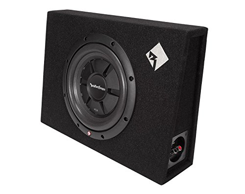 Rockford Fosgate R2S-1X10 Prime R2S Single 10-Inch Shallow Loaded Enclosure