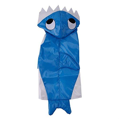 Domybest Huisdier Halloween Kleding pak Winter Warm Hond Dressing Up Haai Kostuum