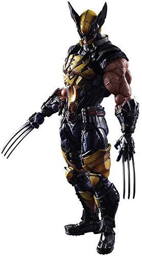 JIANGCJ Hermosa Shanping Anime Carácter Estatua Hero Series X-Men Wolverine PA Cambiar en Caja Hecho a Mano, Decoración de Escritorio Material de PVC Material Toy Statue Height Altura 26 cm