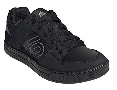 Five Ten Men's Freerider DLX Mountain Bike Shoe, Core Black/Core Black/Grey Three - 7.5